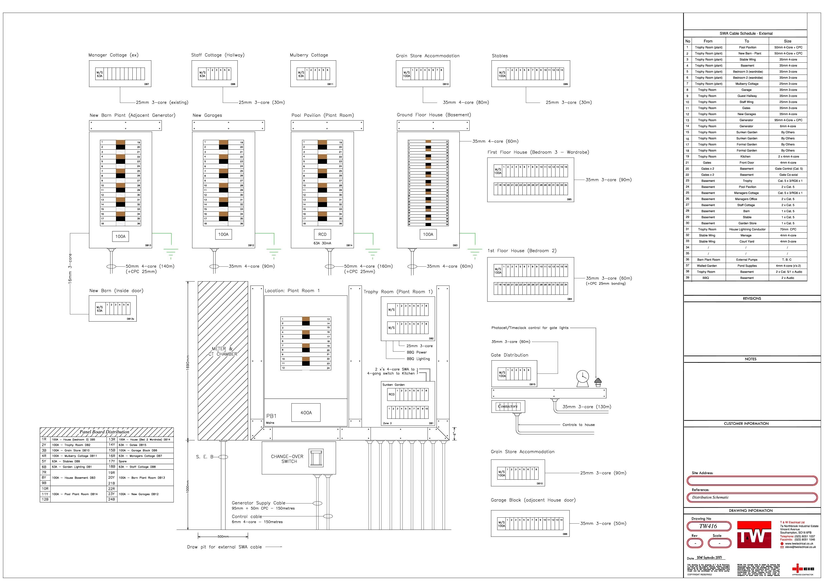 CAD Design | T&W Electrical