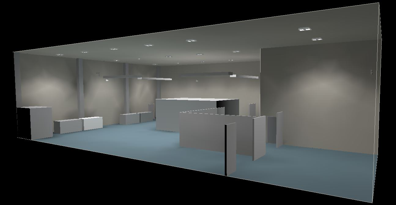 Lighting Design Works : Lighting design works completed for new production area t w