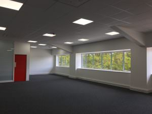 Office electrical installation